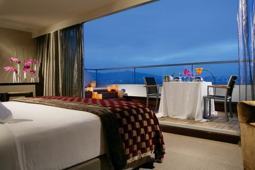 San Valentín romántico en el Hotel Hesperia Tower 1