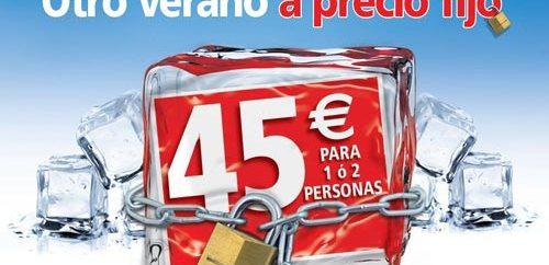 Ibis propone otro verano a 45€