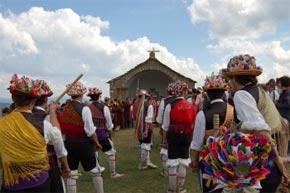 Romería a Santa Orosia en Yebra de Basa