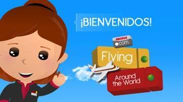 Nuevo juego de Iberia, pilotea un avion alrededor del mundo