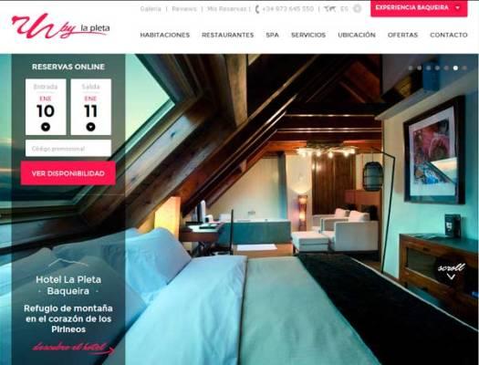 Rafaelhoteles by La Pleta presenta su nueva web