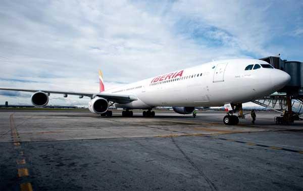 Iberia primer vuelo con la nueva imágen de marca 2