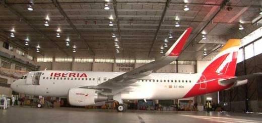 Iberia incorpora el primer avión con sharklets