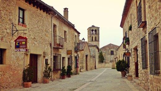 Visita a la villa amurallada de Pedraza