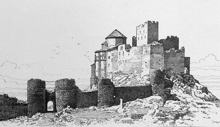 castillo de loarre en huesca