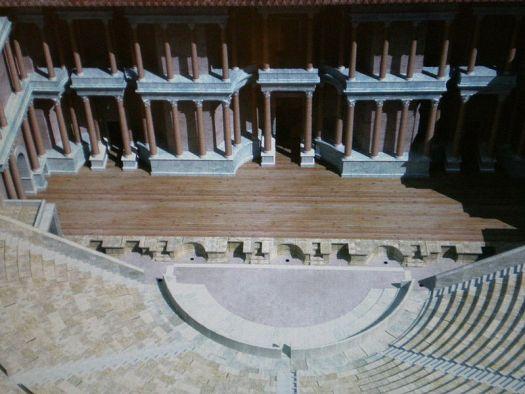 recreacion teatro romano de cartagena