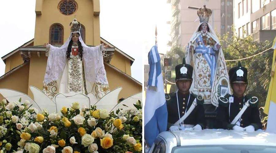 Fiesta en Chile y en Argentina