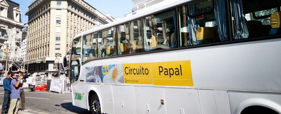 circuito papal - papa francisco