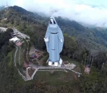 En donde está ubicada la Virgen de la Paz