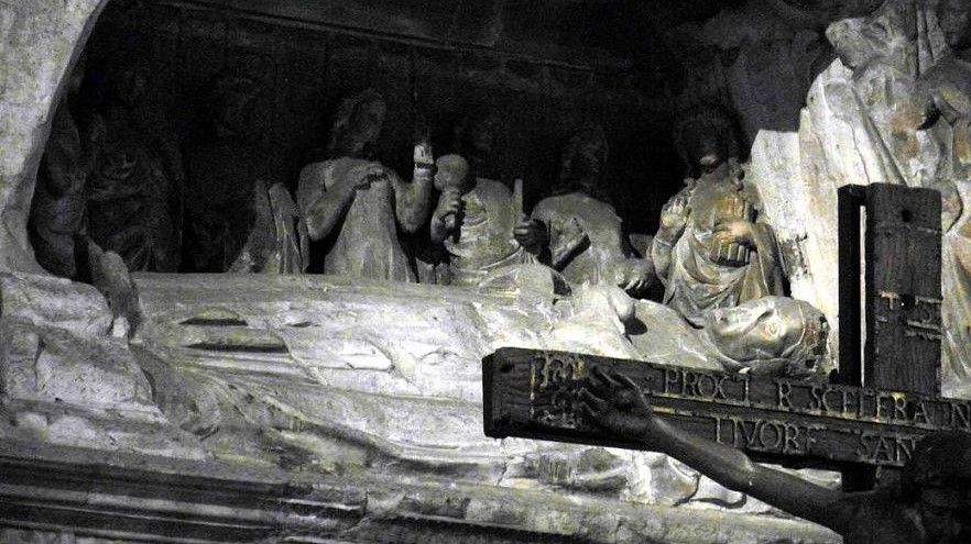 tumbas de Roberto d'Angiò