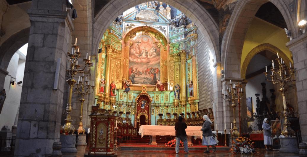 iglesia de los jesuitas retablo mayor