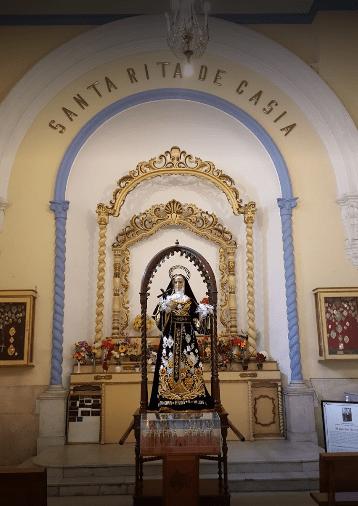 Basílica Menor y Convento de San Agustín SAnta rita de Casia