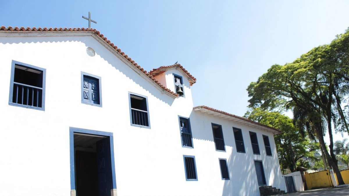 Puerta de acceso al Museo Jesuita de Arte Sacro