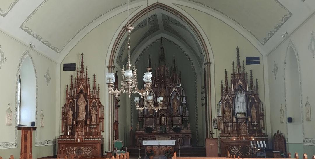 Iglesia Católica de San Donato en San Donato, Iowa
