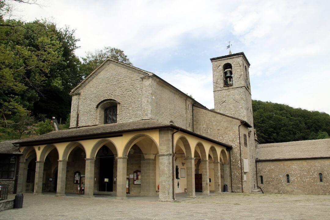 Santuario de Verna camino de francisco