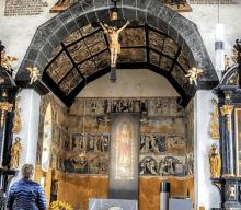 San Nicolás de Flüe  y el único santuario Suizo