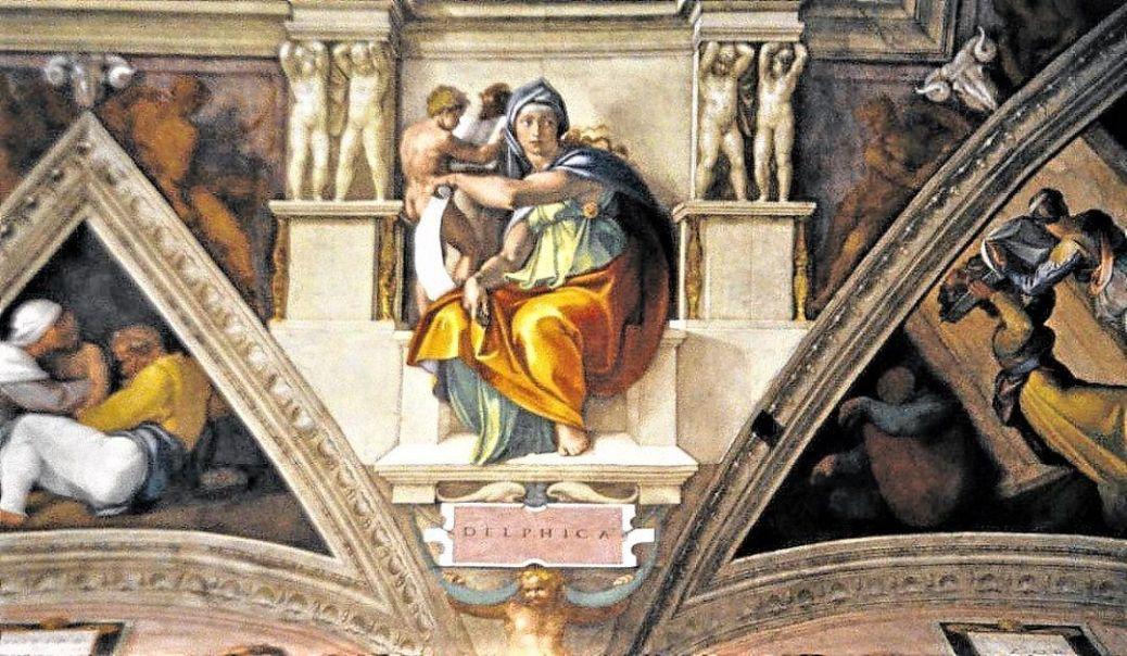 sibilas en la capilla sixtina