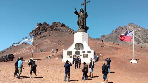 cristo redentor turismo religioso en chile