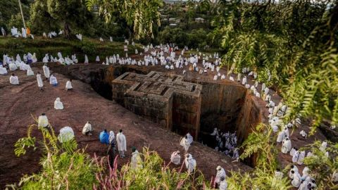 turismo religioso en etiopia