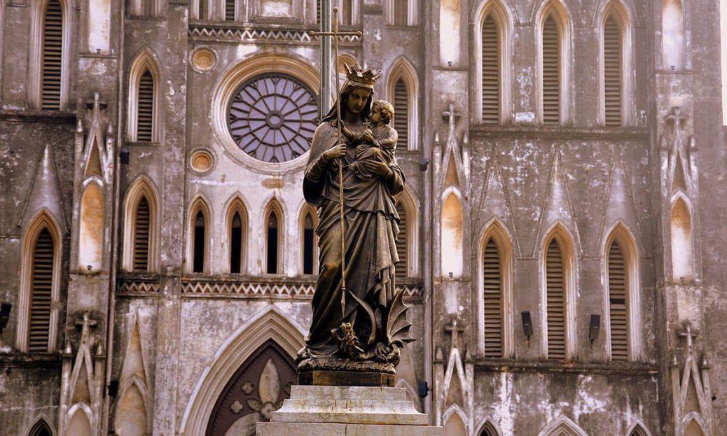 Catedral de San Jose en hanoi turismo religioso