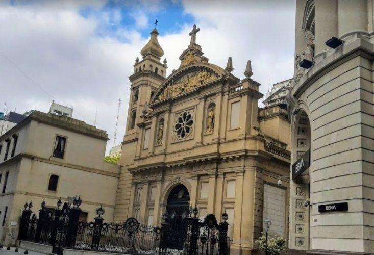 Basílica Nuestra Señora de la Merced Casco histórico de buenos aires
