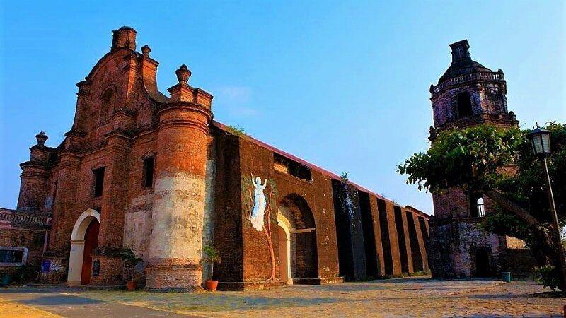 iglesias barrocas de Filipinas Iglesia de Nuestra Señora de la Asunción en Santa María, Ilocos Sur