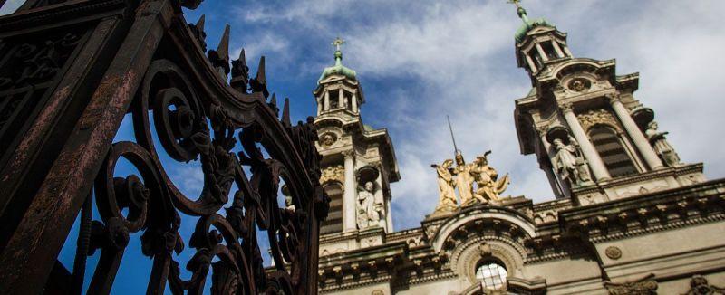 Casco Histórico de Buenos Aires basilica san francisco de asis