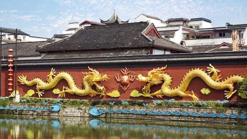 Templo de Nanjing Confucio turismo religioso
