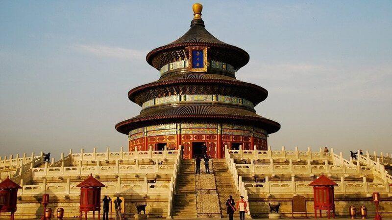 Templo del Cielo en China turismo religioso