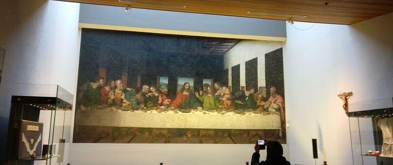 Abadías y Monasterios Copia del siglo XVI de la obra de Leonardo da Vinci
