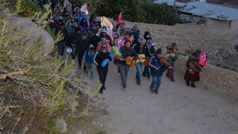 Celebración de la Cruz de Mayo en socorama chile romeria