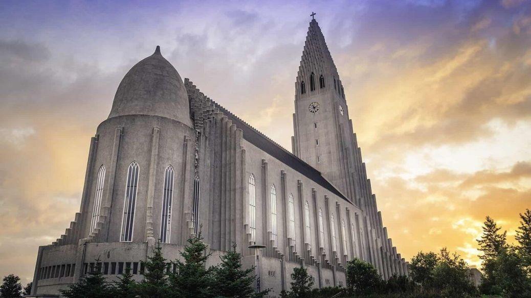 templo luterano islandia