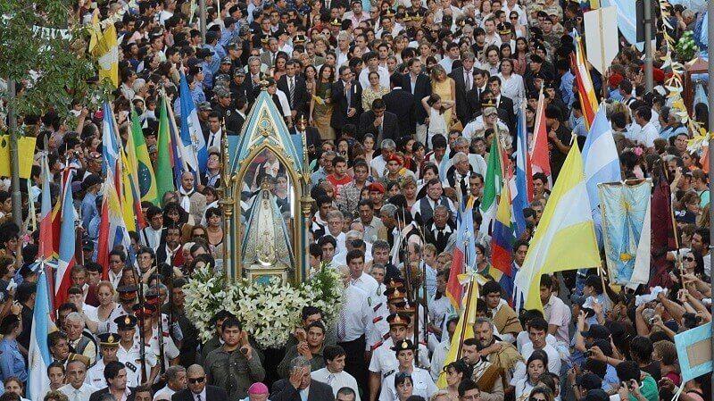 procesion virgen del valle catamarca