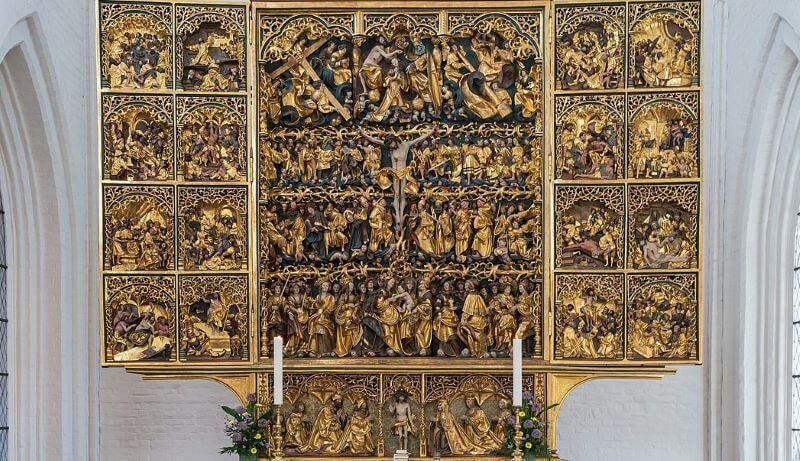 altar de san canuto iglesias danesas