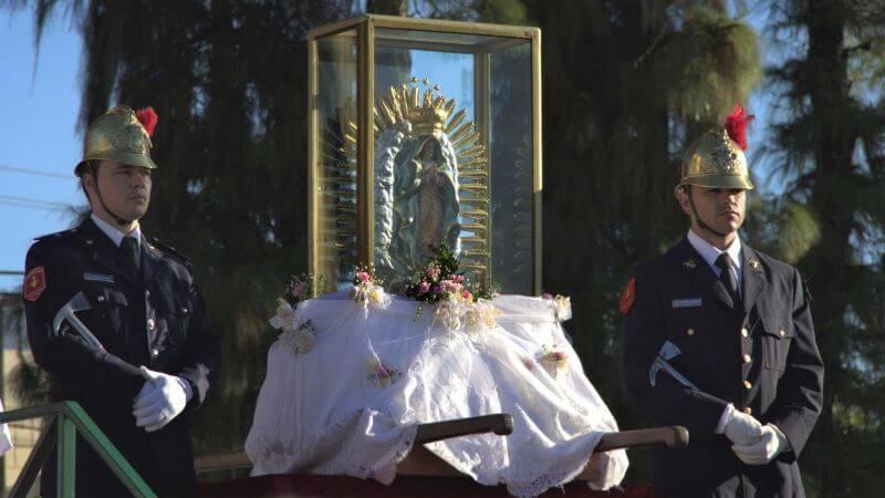 virgen de guadalupe en santa fe