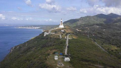 """Esta estatua de la Virgen María es un monumento, conocido como """"Madre de toda Asia"""" o simplemente la """"Torre de la Paz"""", mide 96 metros de altura."""