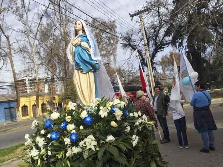 procesion de la virgen de la asuncion