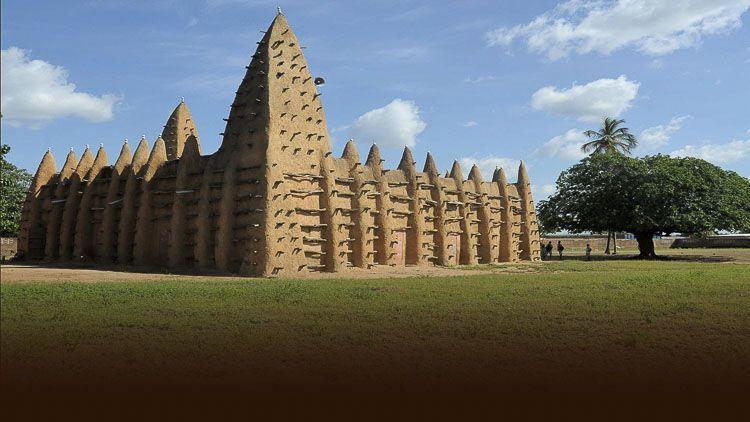Mezquita de Adobe de Kong - Patrimonios Mundiales