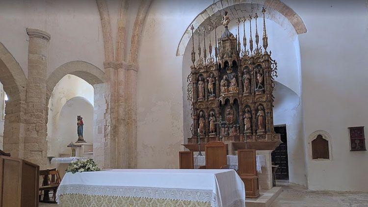 Retablo Mayor en Santa Maria a Mare – Crédito: Paolo Cacciapuoti