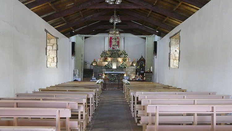 Vista interior de La Balbanera en Ecuador