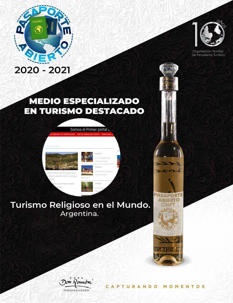 Premio Internacional turismo religioso travel
