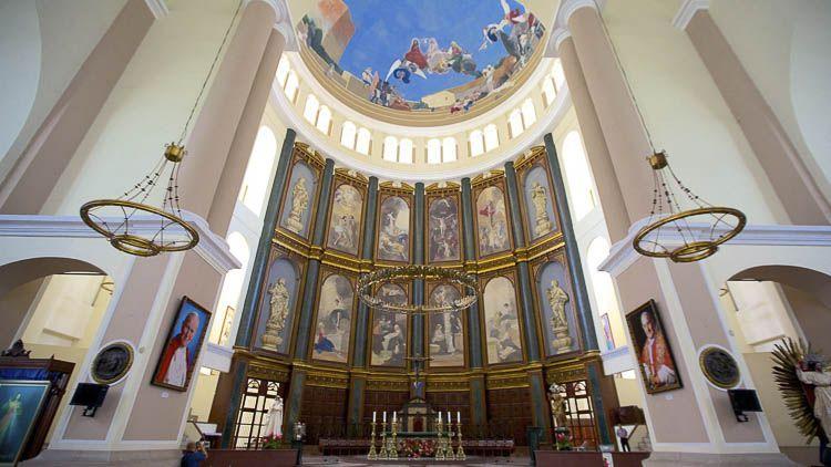 Detalles del coro de la Catedral de San Salvador - Crédito Tourism Media