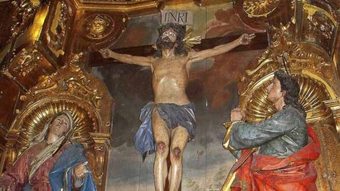 Crédito de la imagen de portada: Jose33luis commons.wikimedia.org Cristo de Limpias