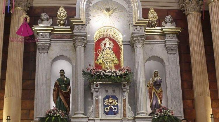 Retablo del Santuario Virgen de los Dolores De Soriano