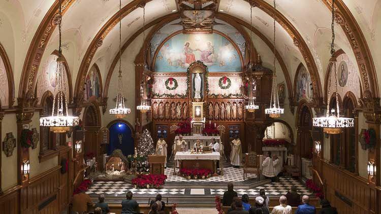 Interior del Santuario Nacional de la Divina Misericordia