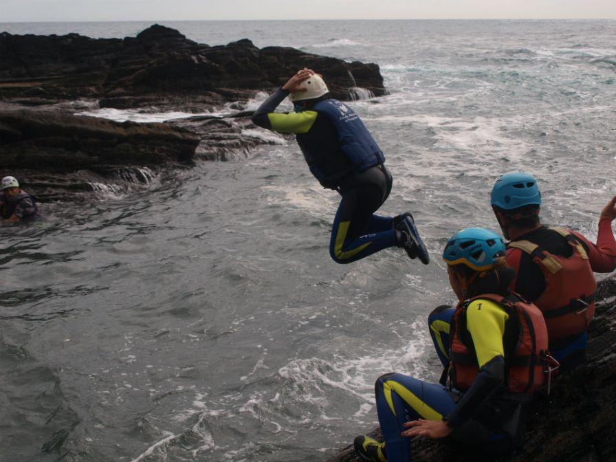 Coasteering en Ribadesella