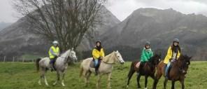 Ribadesella, rutas a caballo