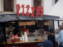 Pizzería rodante en Asturias