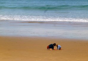 Turismo familiar en Ribadesella, Playa de Vega