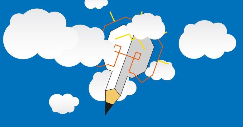 lapiz-con-nubes
